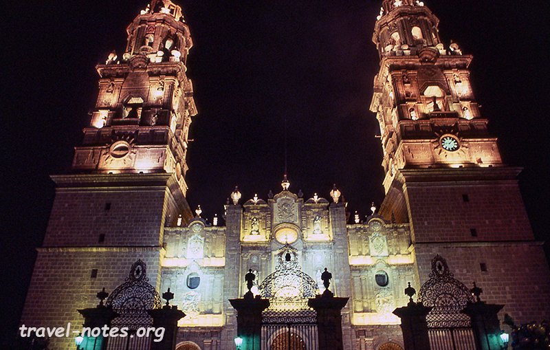 Cathedral at Morelia
