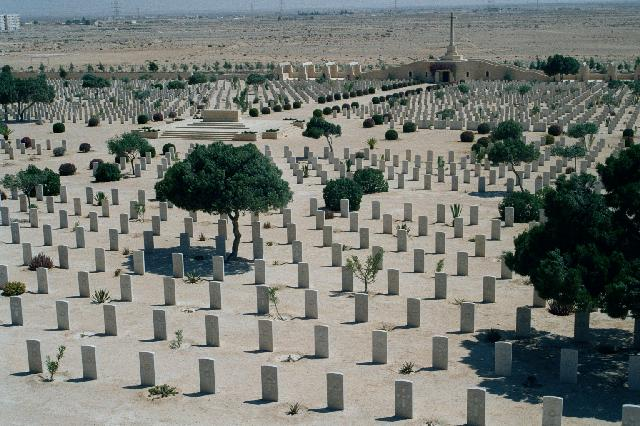Commenwealth cemetries at El Alamein