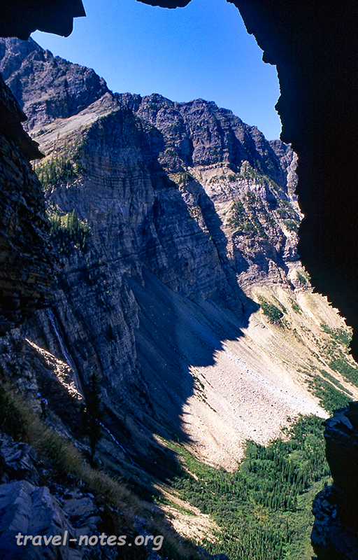 Crypt Lake trail, Waterton National Park