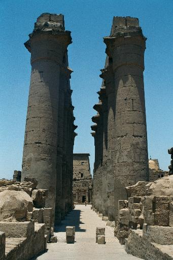 Colonnade of Amenophis III, Luxor Temple