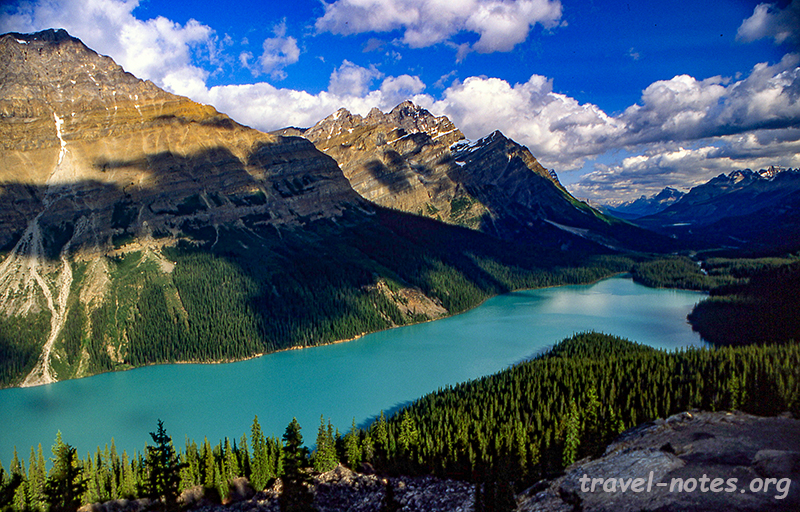 Peyto Lake, Icefields Parkway