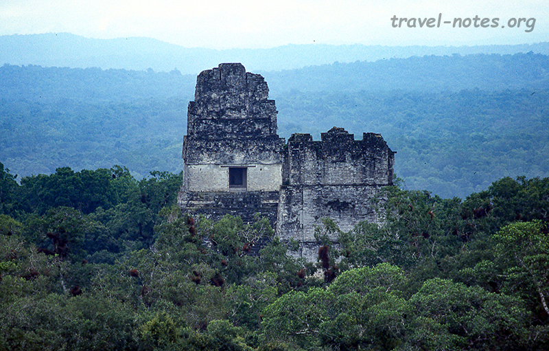 View from Templo IV, Tikal